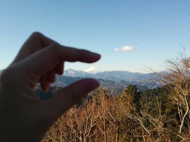 富士山をひとつまみ