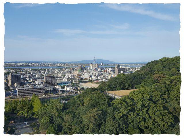 徳島の風景と母校